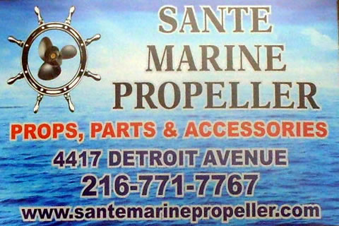 Sante Marine Propeller -Sales and Repair