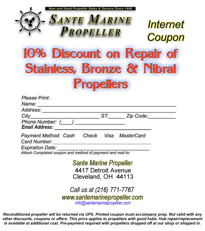 Stainless Prop Discount Coupon